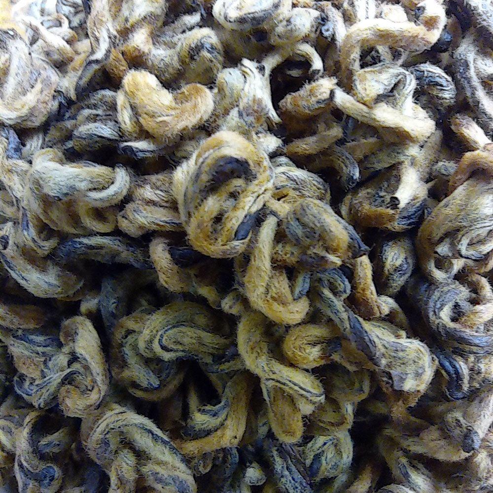 Чай Дянь Хун Золотая Улитка высший сорт купить с доставкой