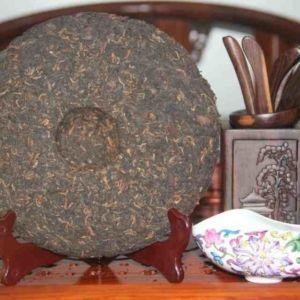 Китайский чай Шу Пуэр первое поколение Мэнку 700600 10