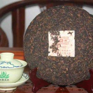 Китайский чай Шу Пуэр первое поколение Мэнку 700600 3