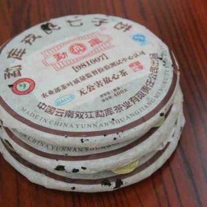 Китайский чай Шу Пуэр первое поколение Мэнку 700600 8