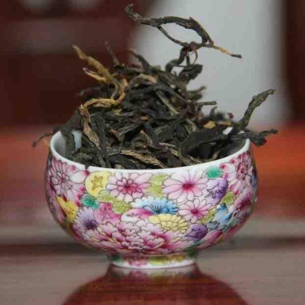 Черный чай Цзин Май, Юньнань