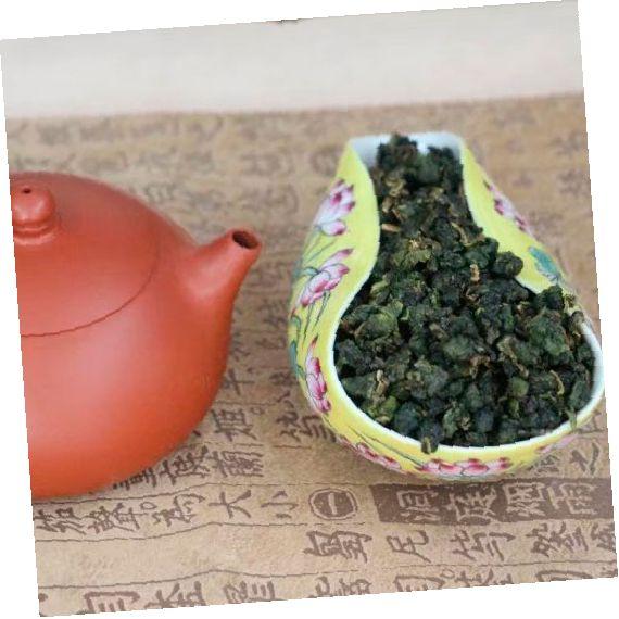 Тайваньский улун Да Юй Лин  – высший сорт