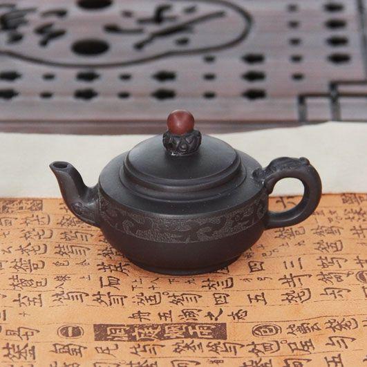 Благословение - чайник из исинской глины 80 мл