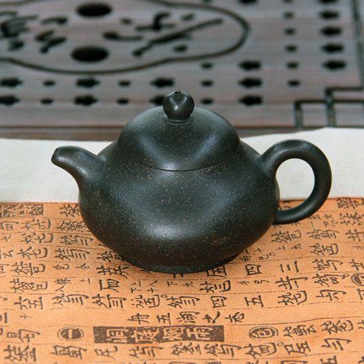 Китайская Груша - чайник из исинской глины 140 мл
