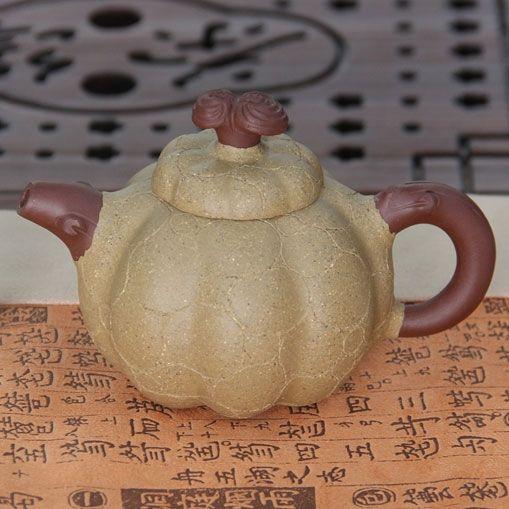 Волшебная тыква монаха - чайник из исинской глины 220 мл