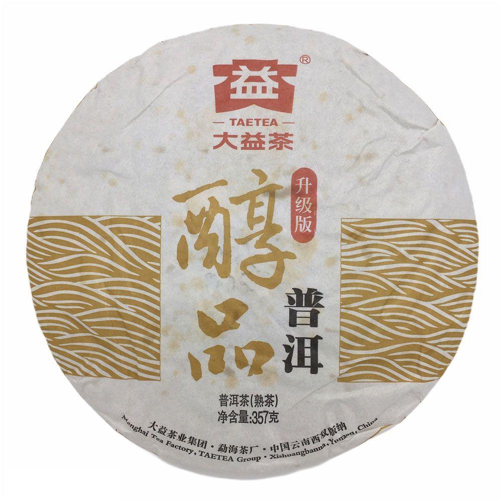 Шу пуэр от Мэнхай Да И Чунь Пинь Истинное Качество купить с доставкой