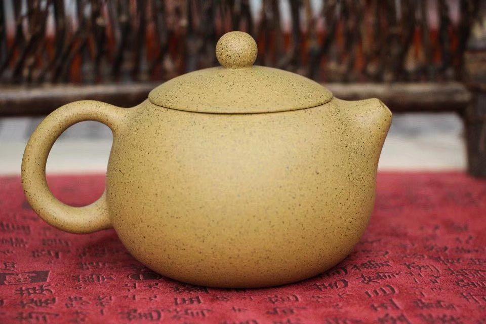 Chainik iz isinskoi glini Si Shi Zhi Ma Xi Shi 220 ml