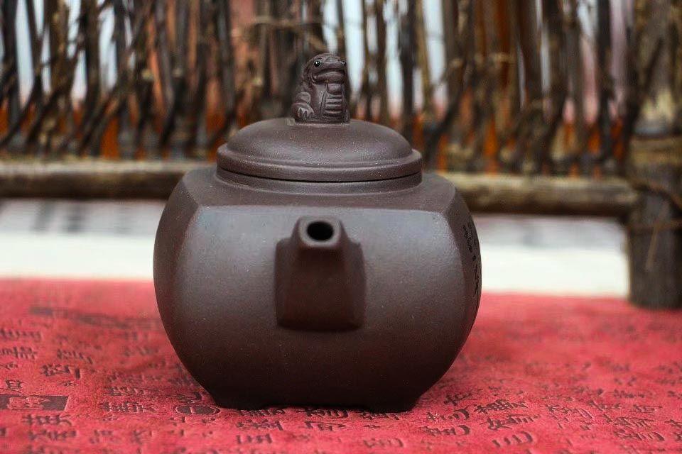Chainik iz isinskoi glini Yang Shen 215 ml 04
