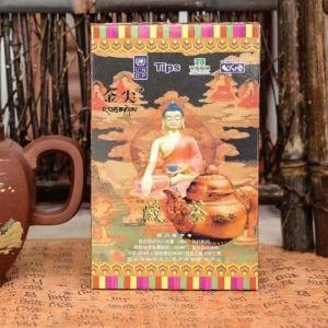 Hei Cha dlya Tibeta Zolotoi nakonechnik fabrika Ya An