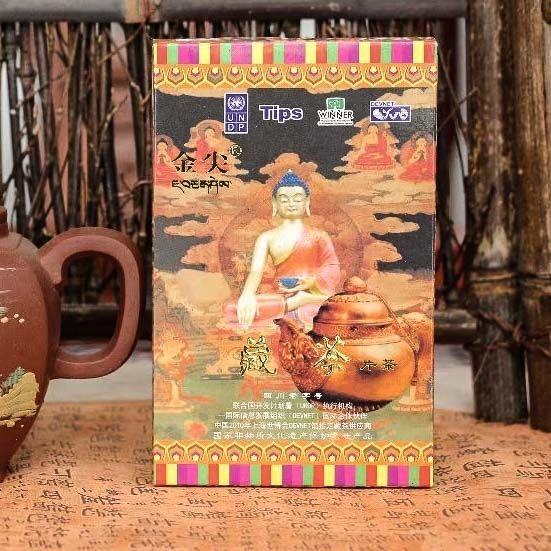 Хэй Ча для Тибета «Золотой наконечник», фабрика Я Ань