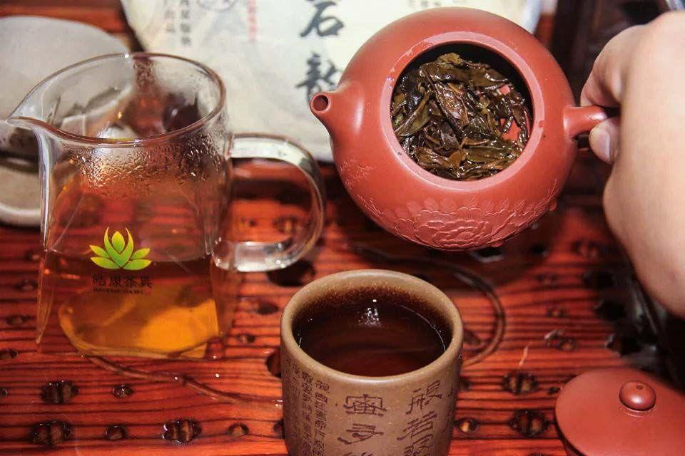 Shen puer Gao Shan Yan Yun fabrika Sinhai 2014 god 03