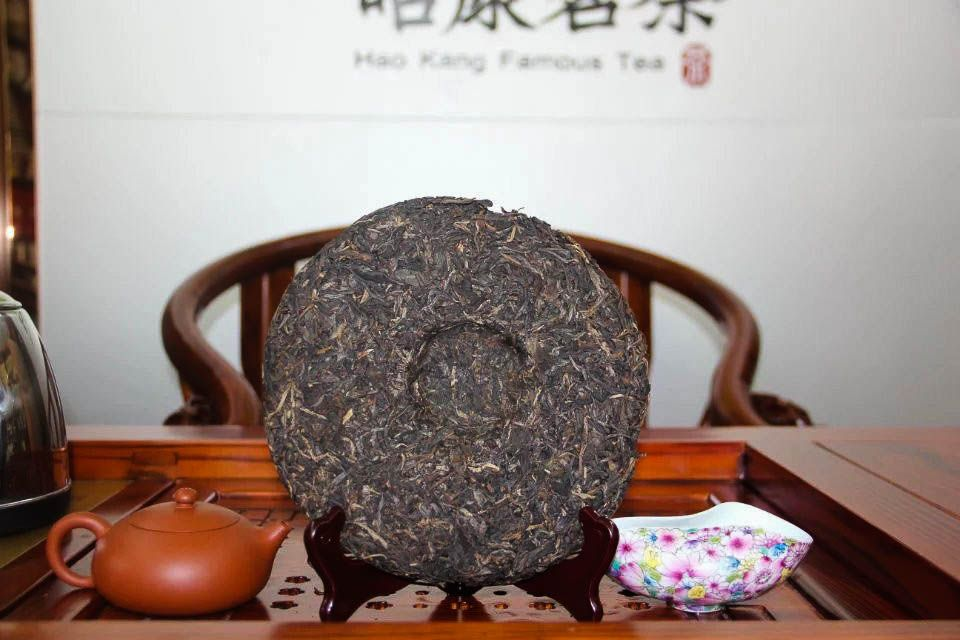 Shen puer Sinhai Jia Ye He Run 2012 god 03