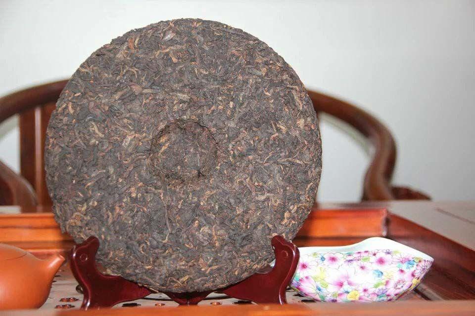 Shu puer Sinhai Hue Feng He Chang 2012 god 03