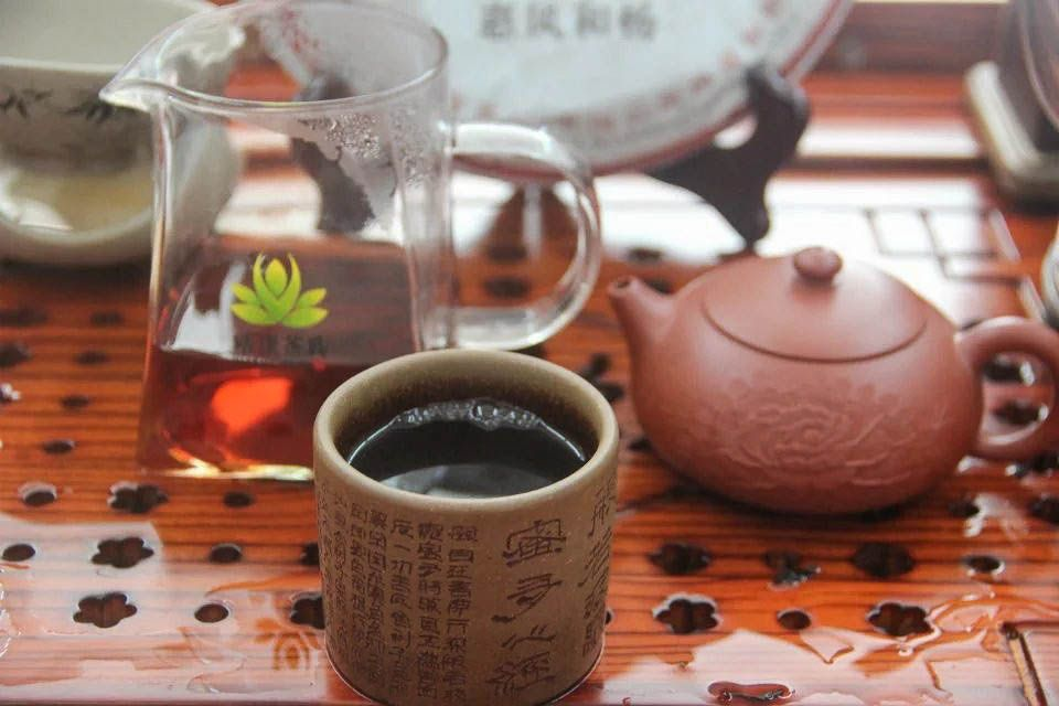 Shu puer Sinhai Hue Feng He Chang 2012 god 04