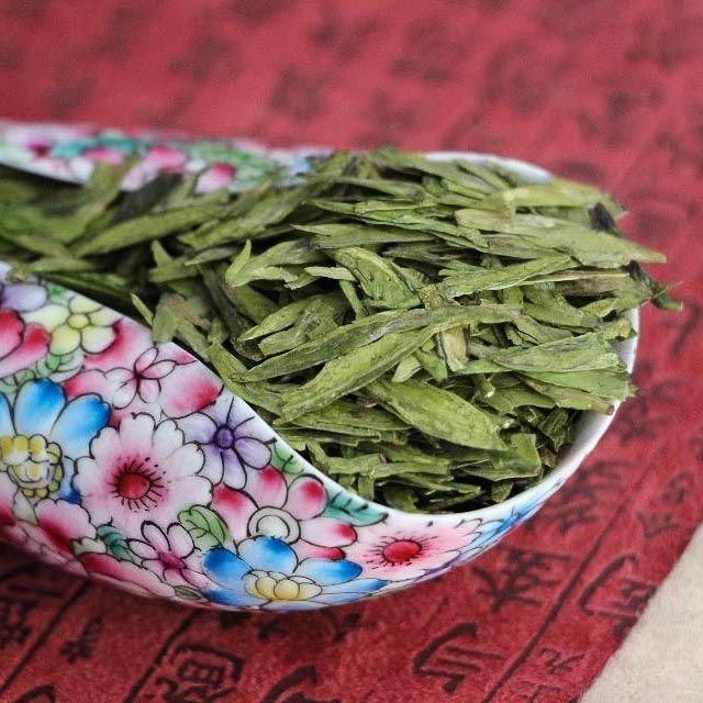 Зеленый чай Сиху Лунцзин (Xi Hu Long Jing) - высший сорт