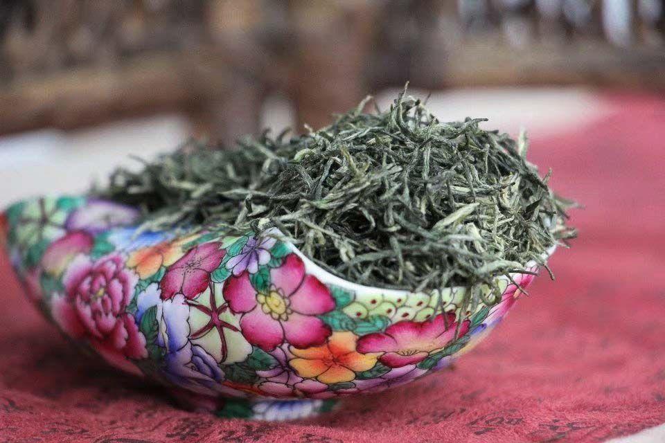 Zelenii chai Sin Yan Mao Czyan Xin Yang Mao Jian