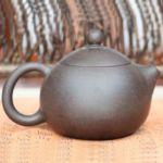 Тёмный чайник из исинской глины «Си Ши» (Xi Shi), 220 мл