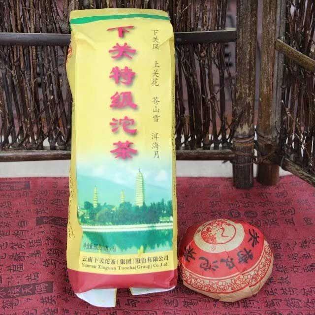 """Шен пуэр """"Премиум точа"""" фабрики Ся Гуань (Xia Guan)"""