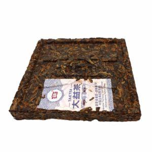 Шу пуэр от Мэнхай Да И Ху По Фан Чжуань Янтарный кирпич купить с доставкой
