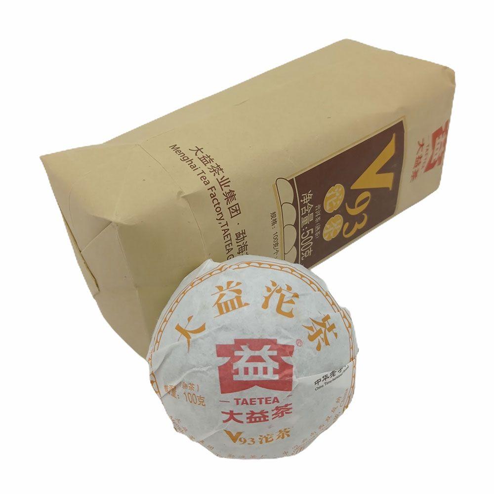 Шу пуэр V93 от Мэнхай Да И купить с доставкой