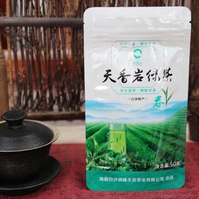 Зеленый чай из уезда Байша (Bai Sha)