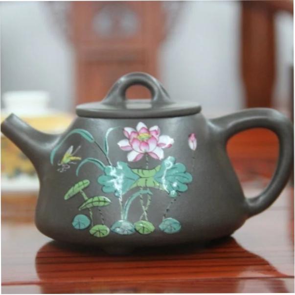 Исинский чайник - Высокая каменная тыква, 300 мл