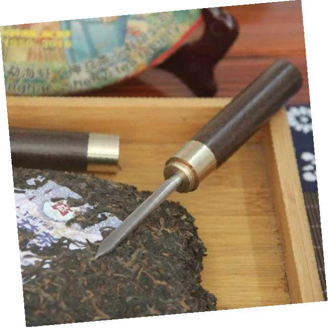 Плоский нож для пуэра (сандал)