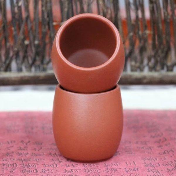 Пиалы из исинской глины «GONG FU KOU BEI», 2 шт. по 80 мл