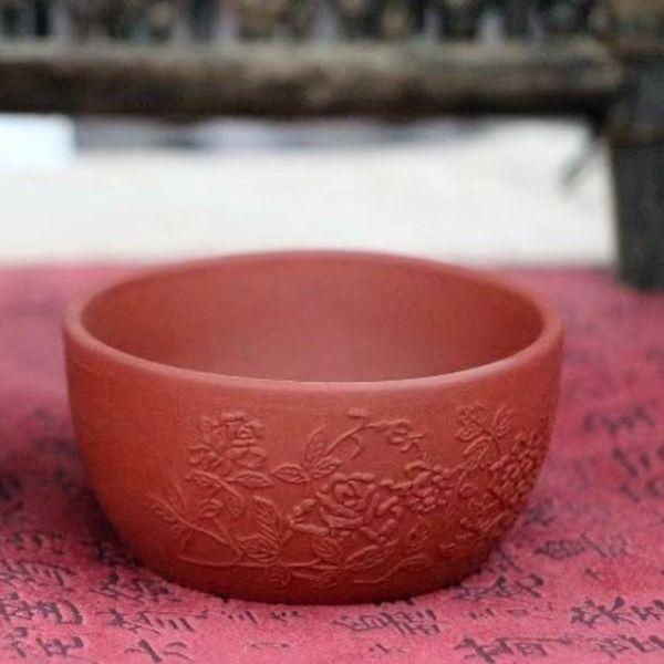 Пиалы из исинской глины «Расписная глина», 2 шт. по 60 мл