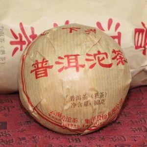 """Шу пуэр """"Xia Guan Tuo Cha"""""""