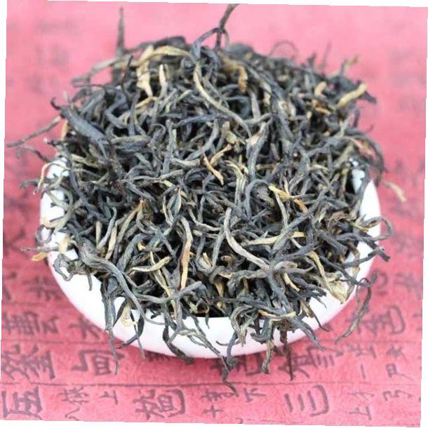 """Черный чай """"Тёмное золото горы Пять пальцев"""""""