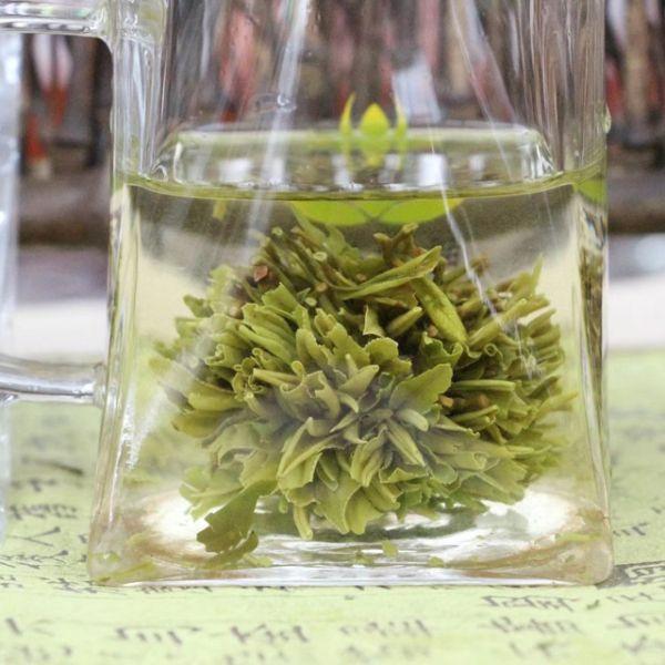 """Зеленый чай """"Зелёный пион"""" - связанный чай Люй Му Дань"""