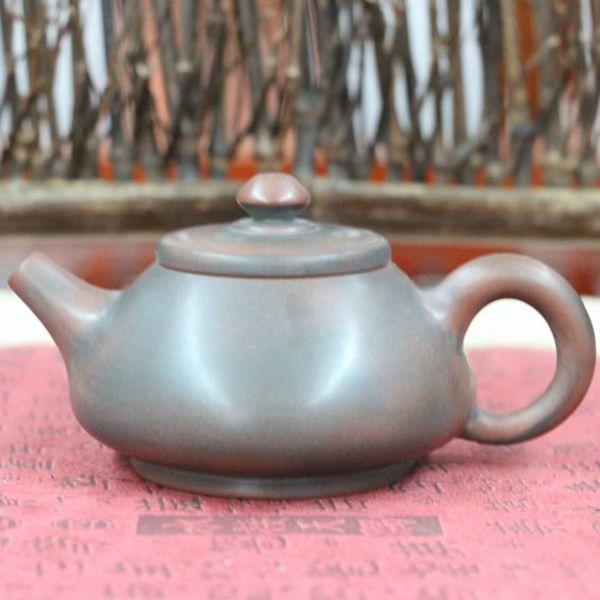 """Чайник из цинчжоуской глины """"Маленькая каменная тыква"""", 90 мл"""