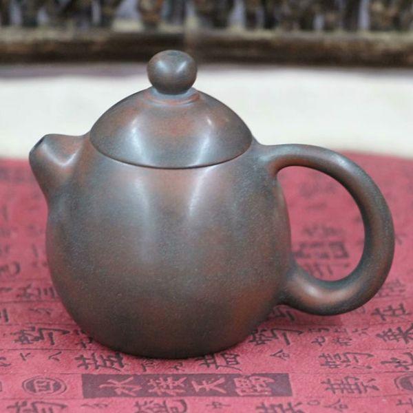 """Чайник из цинчжоуской глины """"Змеиное яйцо"""", 80 мл"""