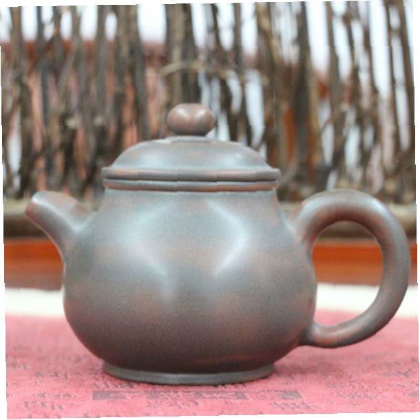 """Чайник из цинчжоуской глины """"Маленький рисовый кувшин"""""""