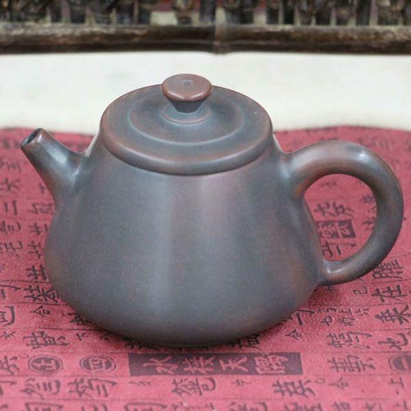 """Чайник из цинчжоуской глины """"Сосуд из тыквы"""""""