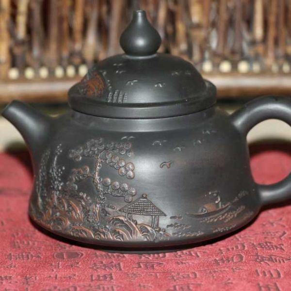 """Чайник из Цзяньшуй """"Чудесный вид"""""""