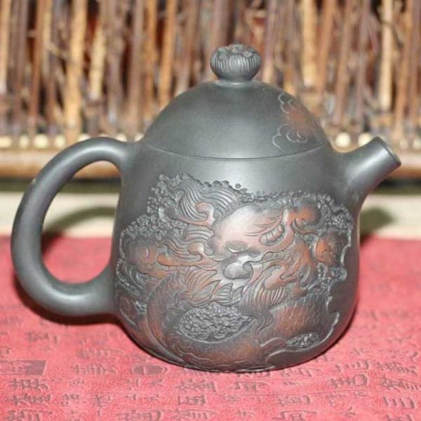 "Чайник из Цзяньшуй ""Яйцо дракона"""
