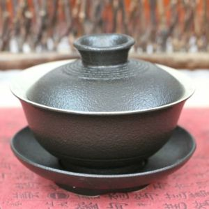 Гайвань «Чёрная керамика», 90 мл