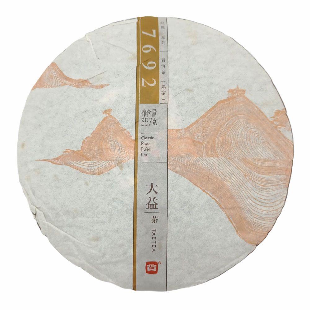 Шу пуэр от Мэнхай Да И 7692 купить с доставкой