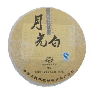 Шэн пуэр от Пувэнь белый чай Сияние Луны купить с доставкой