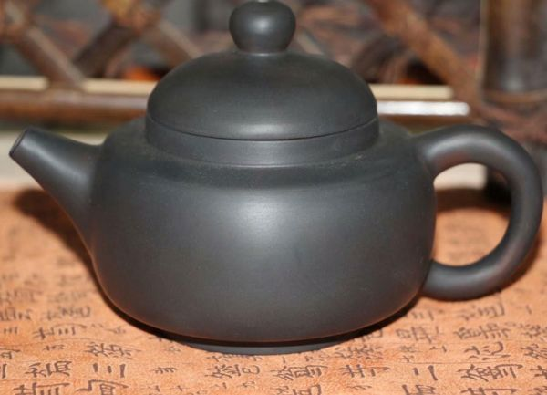 Простой чайник из уезда Цзянь шуй