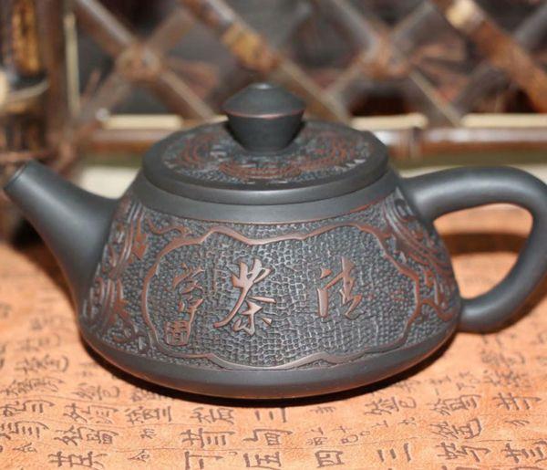 """Чайник """"Каменная тыква"""" из Цзяньшуй"""
