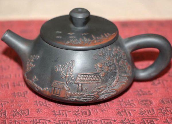 "Чайник ""Рельефный пейзаж MINI 石瓢 shipiao"""