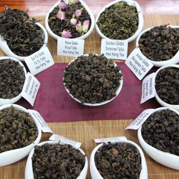 11 сортов чая ГАБА - набор пробников