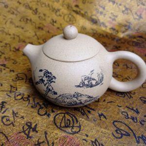 Чайник Сиши «Пейзаж» (исинская глина, 170мл)
