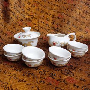 Чайный набор - Благополучие 10 приборов | желтый