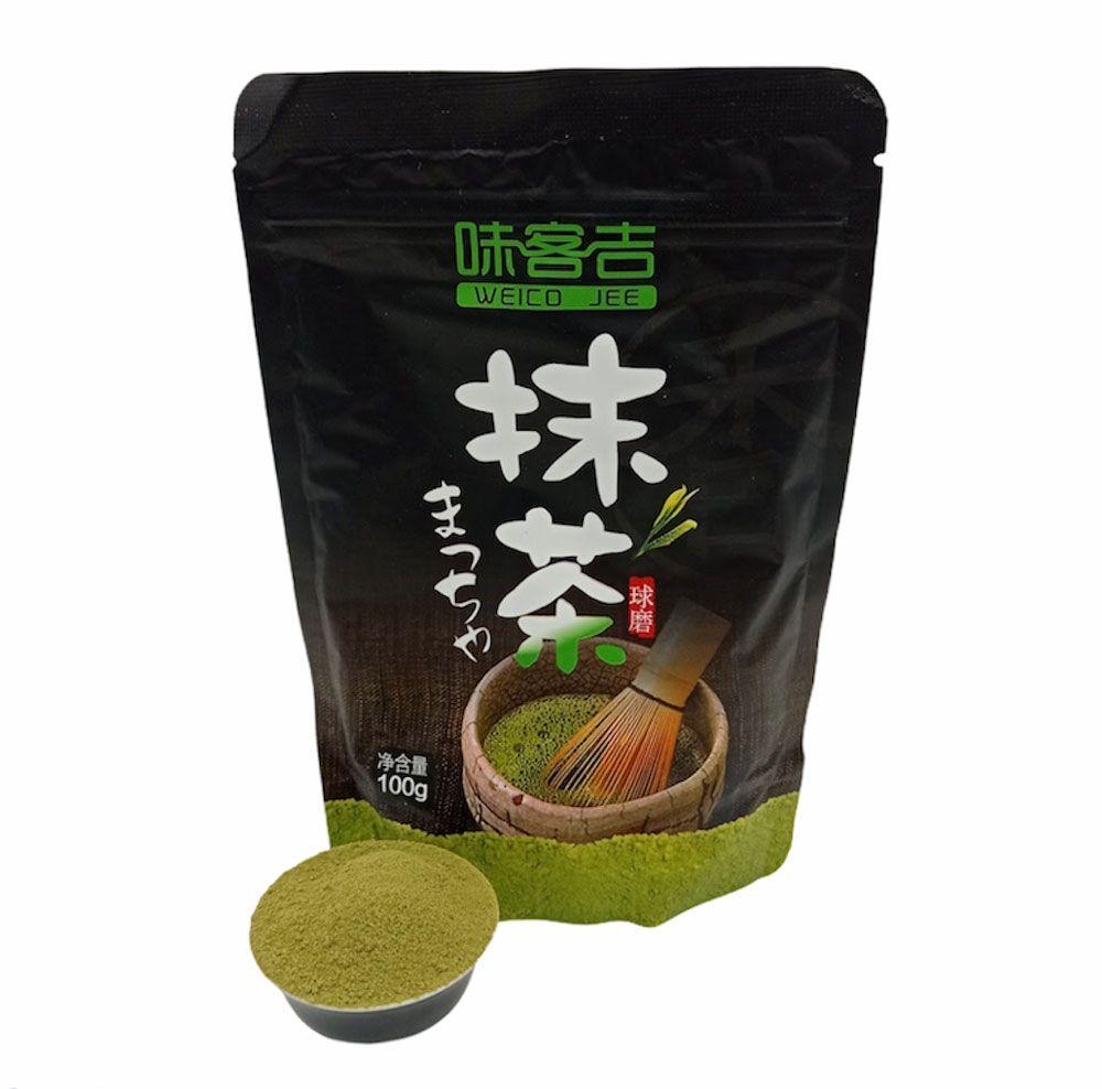 Маття (Матча) — молотый зелёный чай Weico Jee купить с доставкой