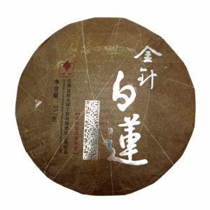 Шу пуэр от Гу И - Чжэнь Бай Лянь - Золотая игла и белый лотос