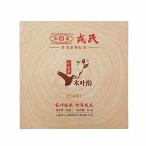 Шу пуэр от Мэнку - Му Е Чунь Нянь Фэн Ча - Зрелый чай